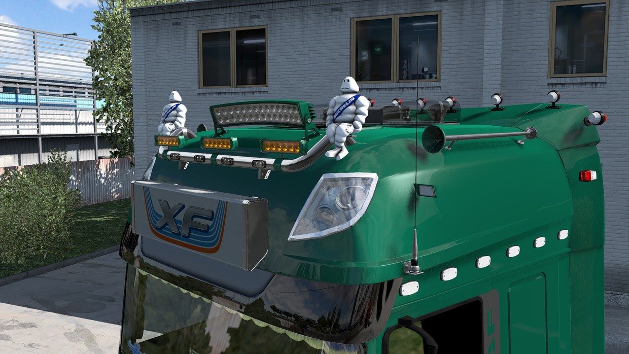 [ETS2 - ADDON] DAF XF Euro 6 Super Space Cab Roof Tuning Pack