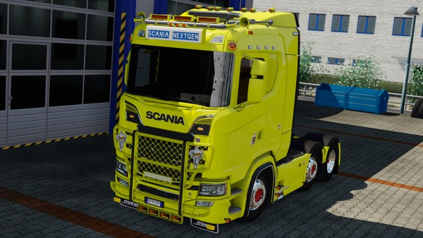 [ETS2 - ADDON] Scania S - R NextGen Low Cabin Roof Tuning Pack