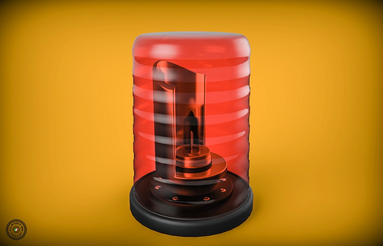 [3D MODEL] Orange Beacon