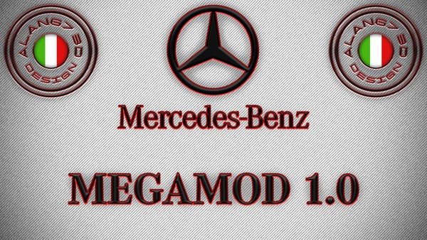 [ETS2 - ADDONS / BUNDLE] Mercedes-Benz New Actros GigaSpace MegaMod 1.0