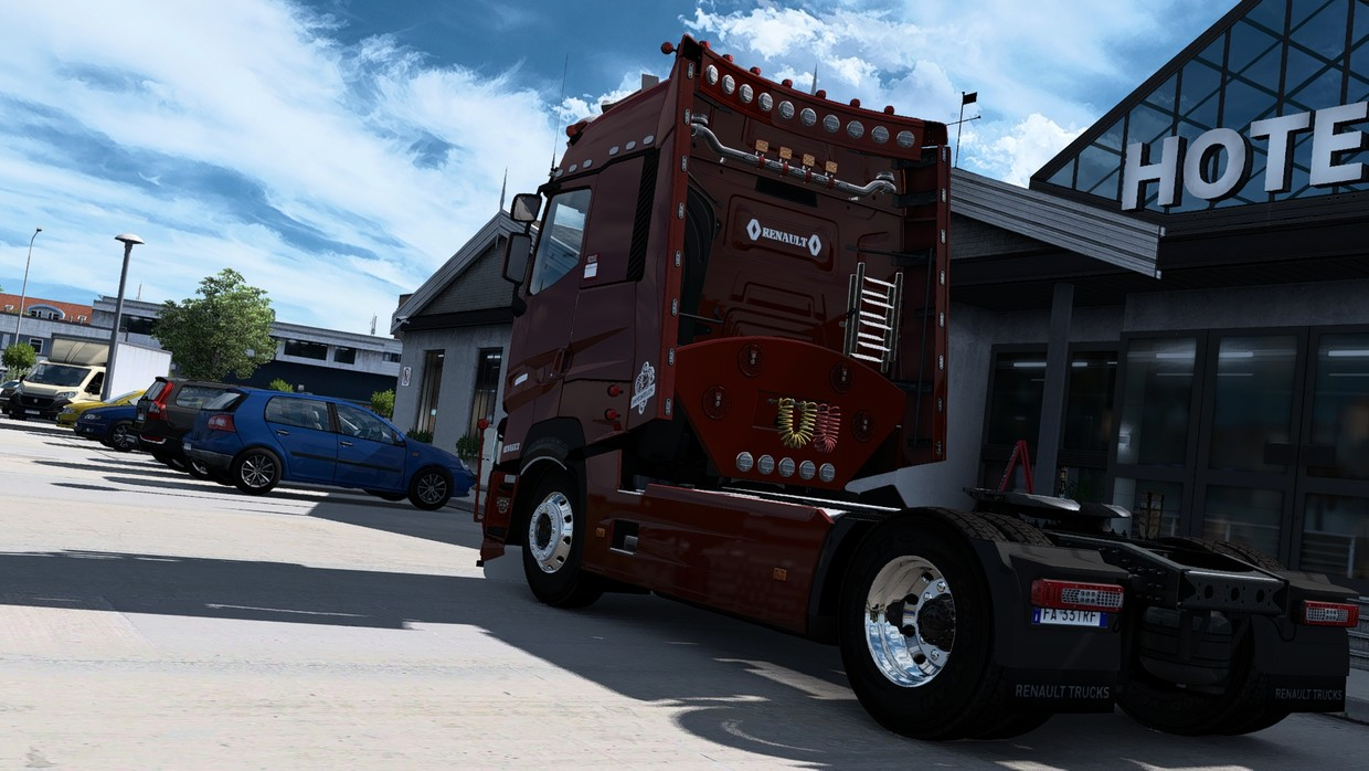 [ETS2 - ADDON] Renault Range T High Sleeper Rear Tuning Pack