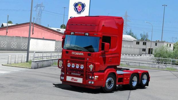 [ETS2 - ADDON] Bullbar Old Trux OffRoad Scania R & 4 Series