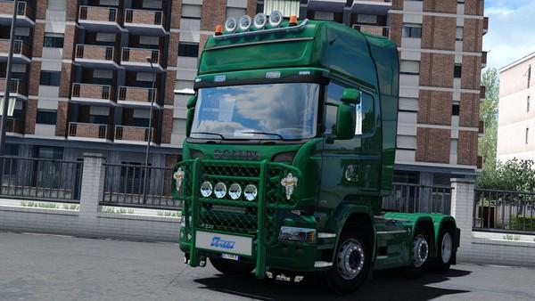 [ETS2 - ADDON] Bullbar Trux OffRoad Scania R Streamline