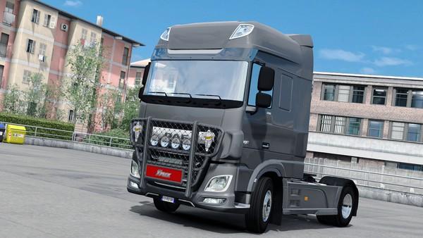[ETS2 - ADDON] Bullbar Trux OffRoad DAF Euro 6
