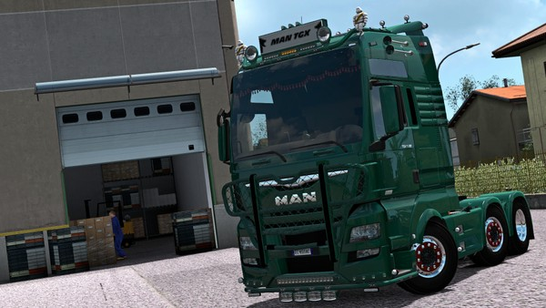 [ETS2 - ADDON] MAN TGX XXL Euro 6 Bottom Tuning Pack