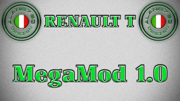 [ETS2 - ADDONS / BUNDLE] Renault Range T High Sleeper MegaMod 1.0