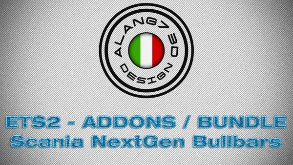 [ETS2 - ADDONS / BUNDLE] Scania NextGen Bullbars