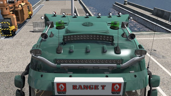 [ETS2 - ADDON] Renault Range T High Sleeper Roof Tuning Pack