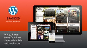 Branded - Responsive WordPress Theme