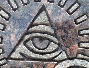 All seeing eye.