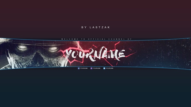 New BRAND Gaming Youtube Banner by LastZAK 2017