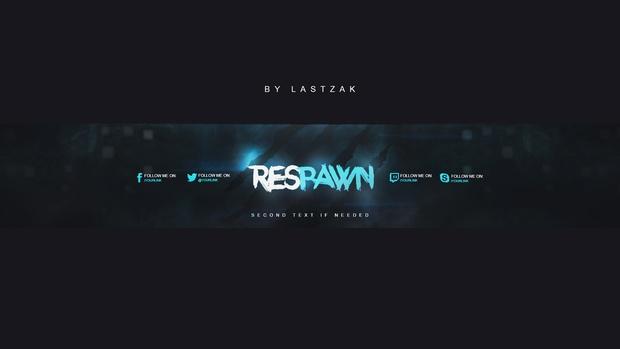 RESPAWN Youtube Banner & Avatar by LastZAK 2017