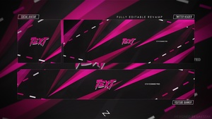 FREE GFX - FREE Abstract Revamp/Rebrand 2018 [PSD Template] by LastZAK