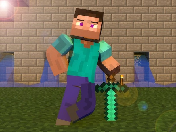 Cinema 4d Minecraft Template Character Rig V1