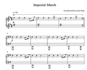 Imperial March Heroic Sheet