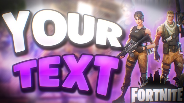 Fortnite Livestream Thumbnail Free Cenksms