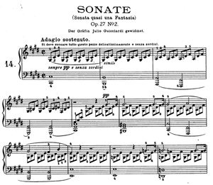 Moonlight Sonata (Beethoven) Sheet music (.pdf)