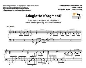 Adagietto (Gustav Mahler) Sheet music (.pdf)