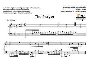 The Prayer (Christmas Song) Sheet Music