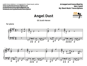 Angel Dust (Gil Scott-Heron) Sheet music (.pdf)
