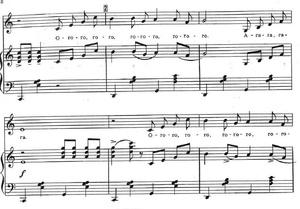 Trololol - sheet music | melody and piano