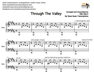 Through the Valley (Shawn James) Sheet music (.pdf)