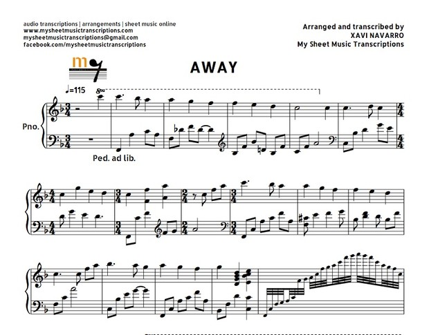 Away in a Manger (Faith Hill) Sheet music ( pdf)