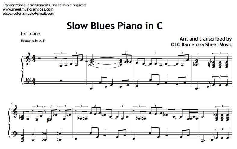 blue bossa piano sheet music pdf