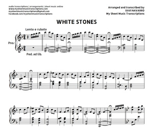 White Stones (Cristal Garden) - Sheet music (.pdf)
