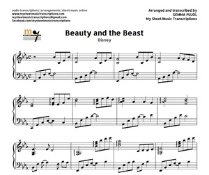 Beauty and The Beast (Disney) Sheet music (.pdf)