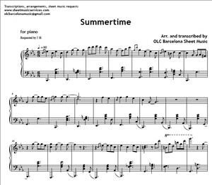 Page 3 My Sheet Music Transcriptions