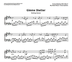 Gimme Shelter (Rolling Stones) Sheet music (.pdf)