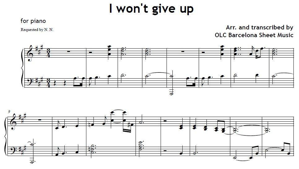 Up Sheet Music Ibovnathandedecker
