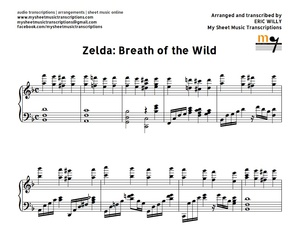 Zelda: Breath of the Wild Sheet music (.pdf)