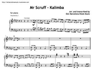 Mr. Scruff (Kalimba) Sheet music (.pdf)