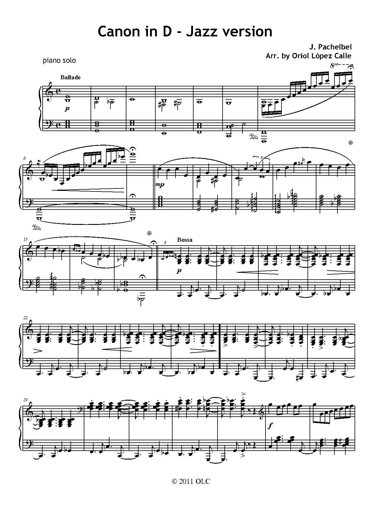Jazz Sheet Music Pdf