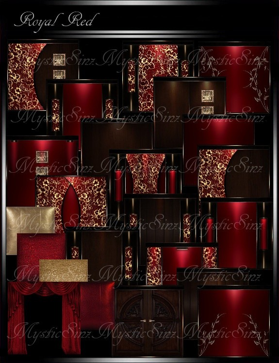 Royal Red Room Collection