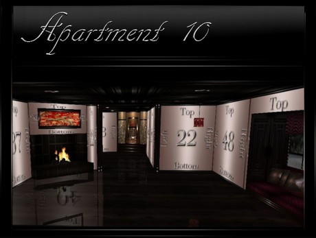 Apartment-10 IMVU Room Mesh