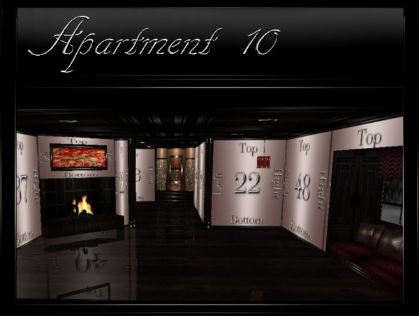 Apartment-10 IMVU Room Mesh