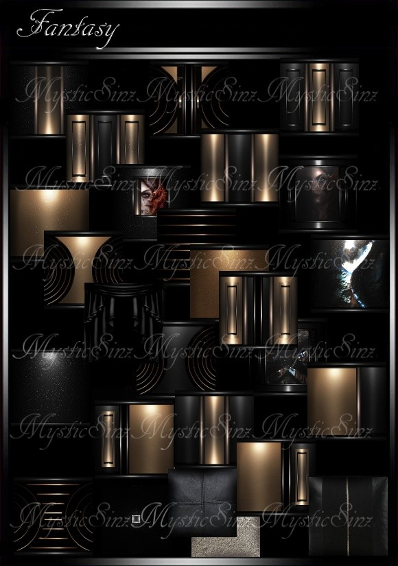IMVU Textures Fantasy Room Collection