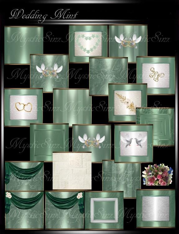 IMVU Textures Wedding Mint Collection