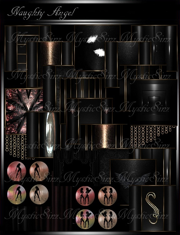 IMVU Textures Naughty Angel Room Collection
