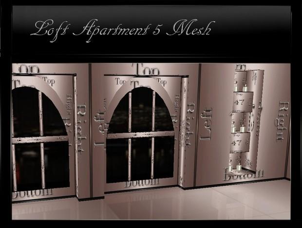 IMVU Loft Apartment 5 Mesh