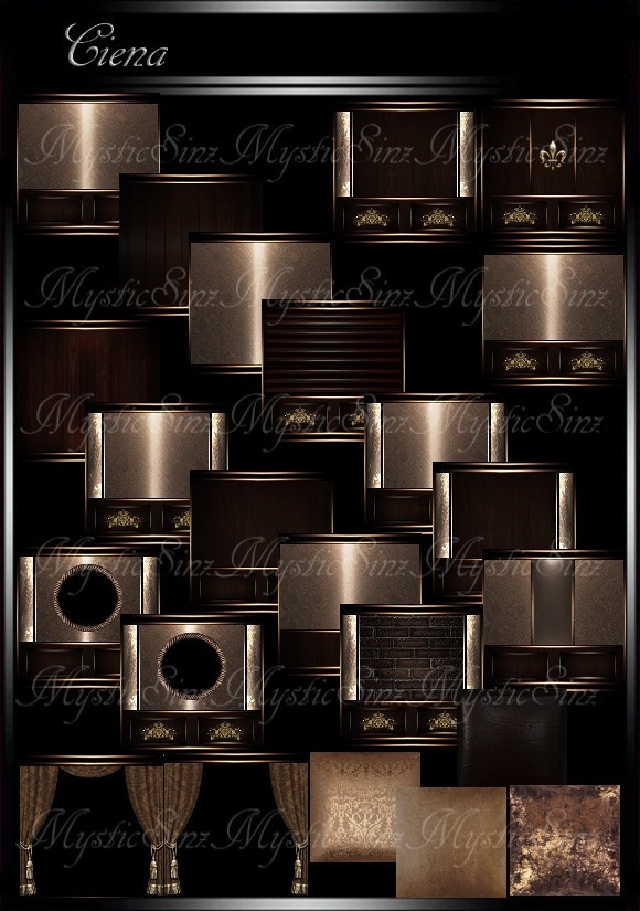 IMVU Textures Ciena Room Collection