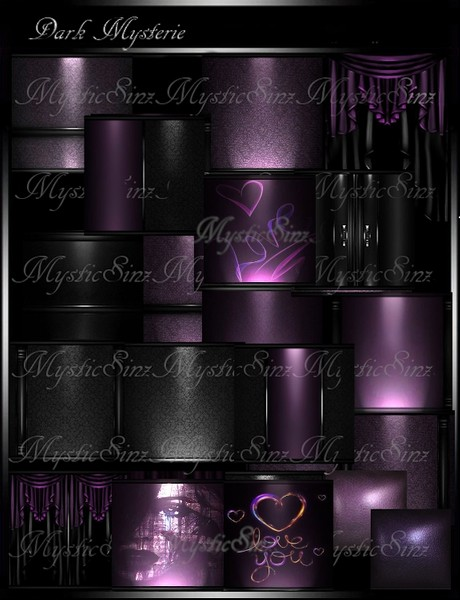 IMVU Textures Dark Mysterie Collection