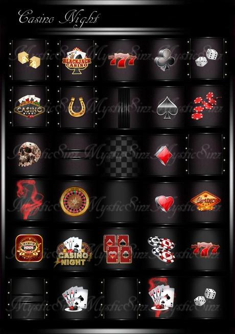Casino Nights IMVU Room Textures
