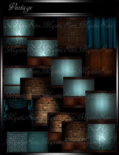 IMVU Vintage Room Collection