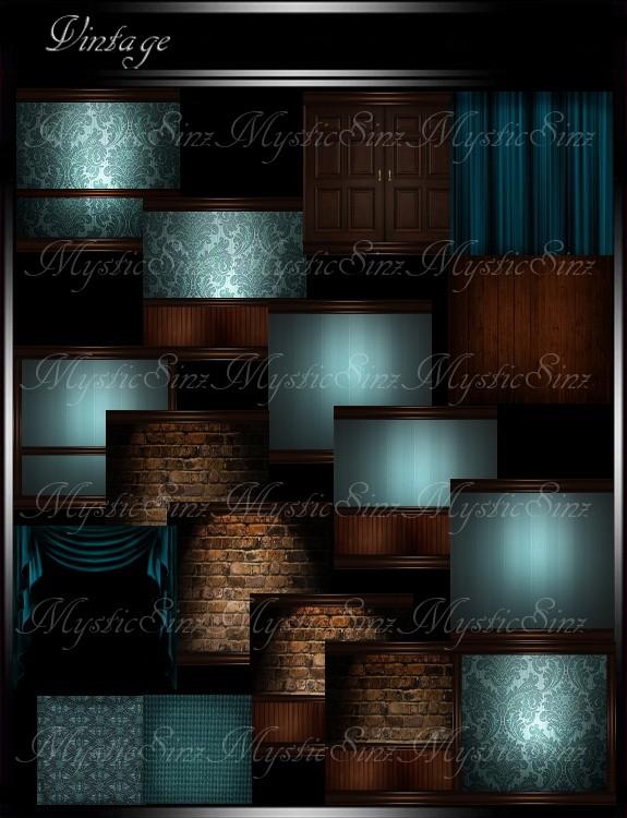 IMVU Vintage Room Collection