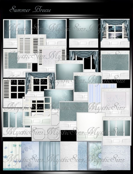 IMVU Textures Summer Breeze Room Collection