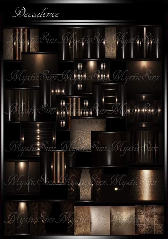 IMVU Decandence Room Collection